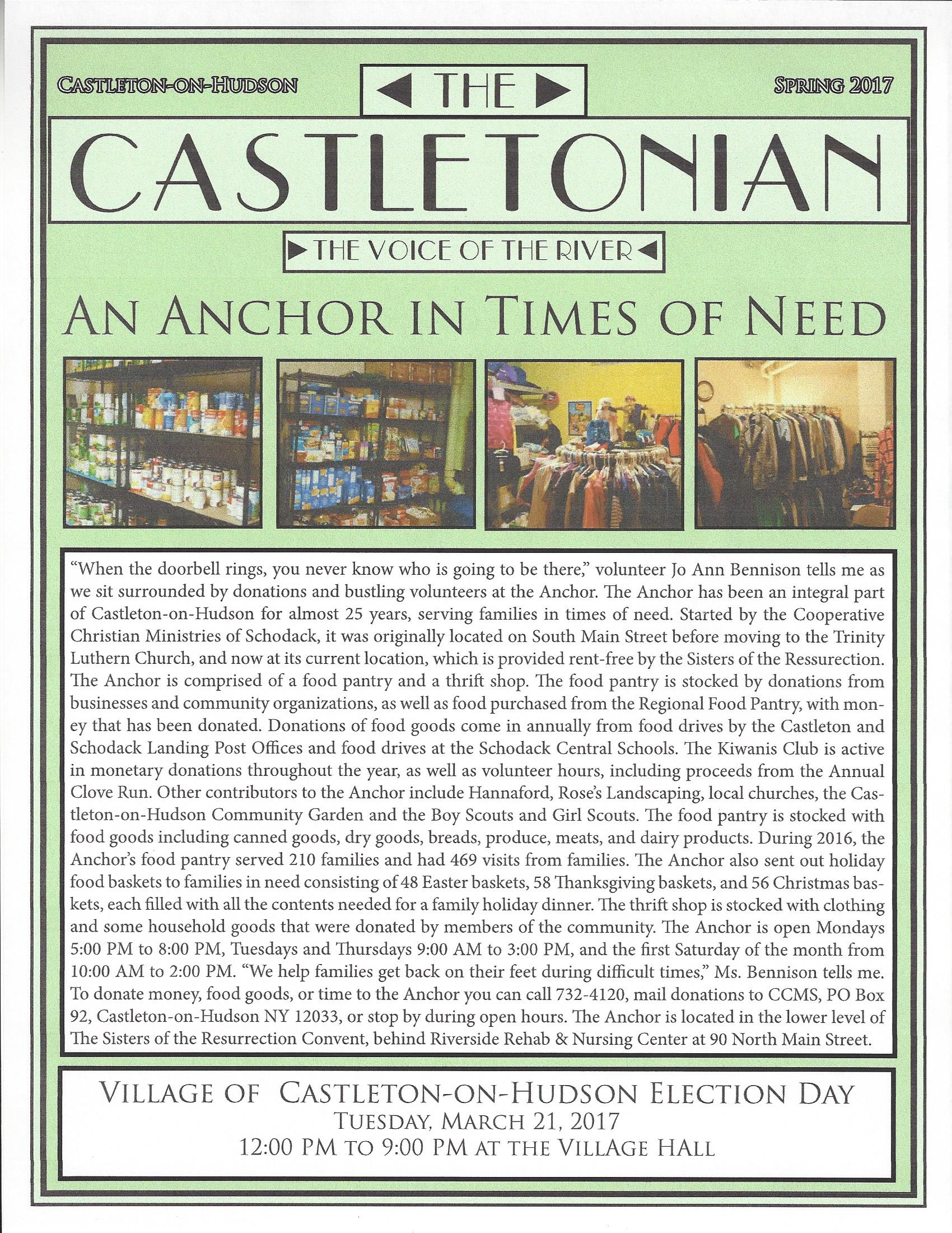 Castletonian.Spring2017.cover