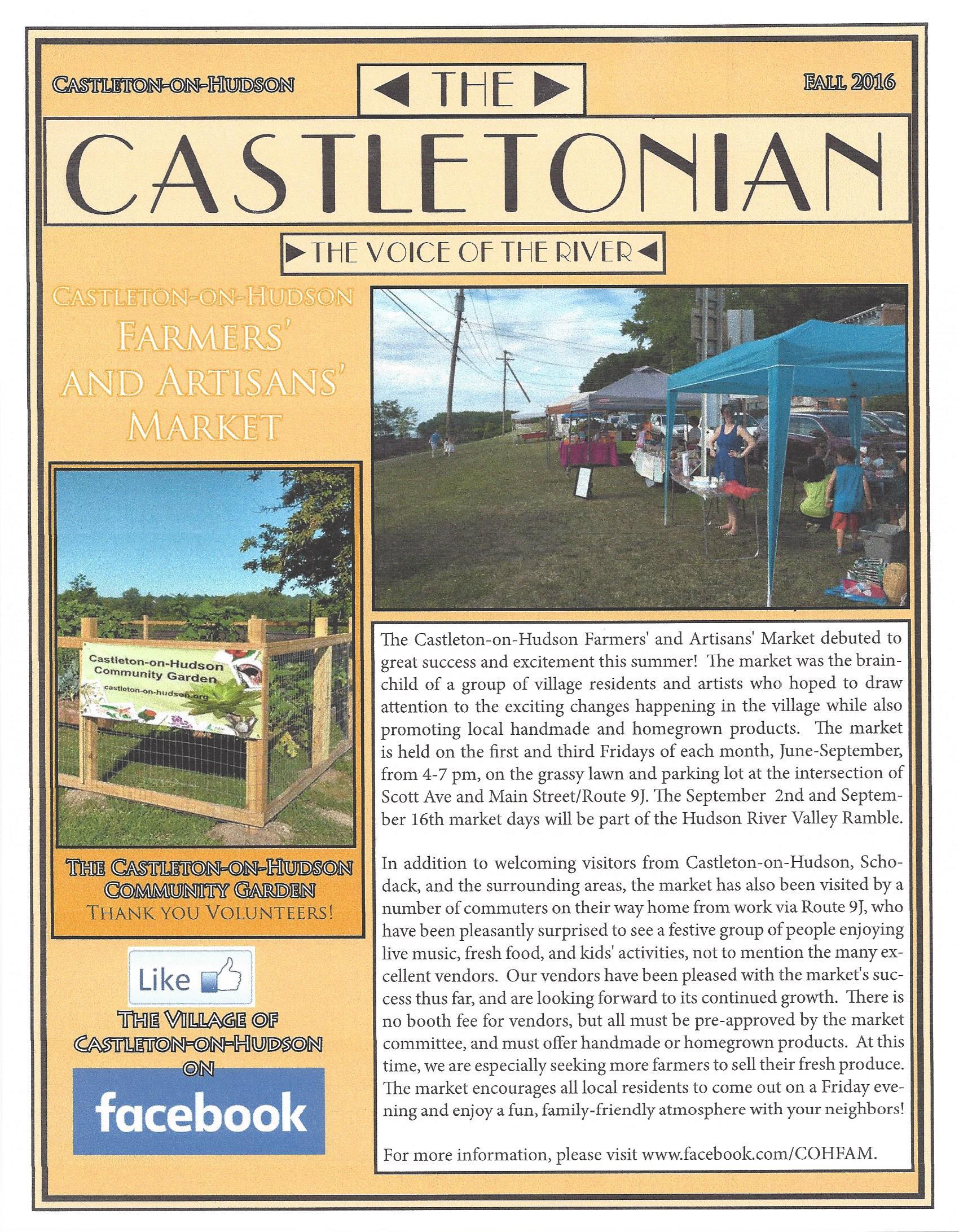 The Castletonian Fall 2016