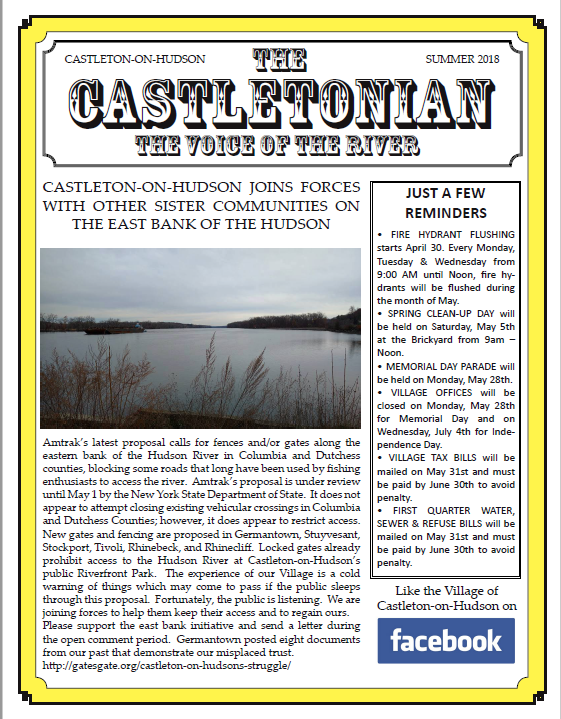 Castletonian Summer 2018